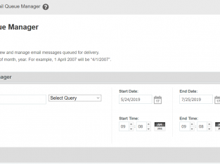 Cara Delete Frozen Mail di Mail Queue Manager
